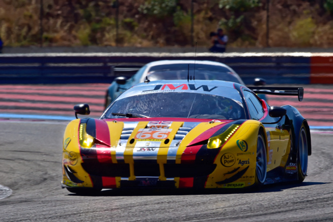 Ferrari s'impose en GTE (Photo Antoine Camblor)