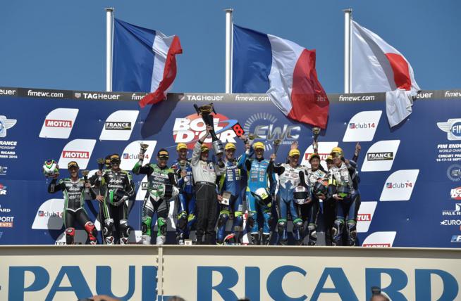 Le podium final (Photo Antoine Camblor - Racing Forever)