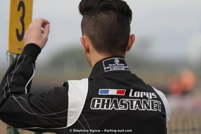 Karting : Lorys Chastanet-Comiti