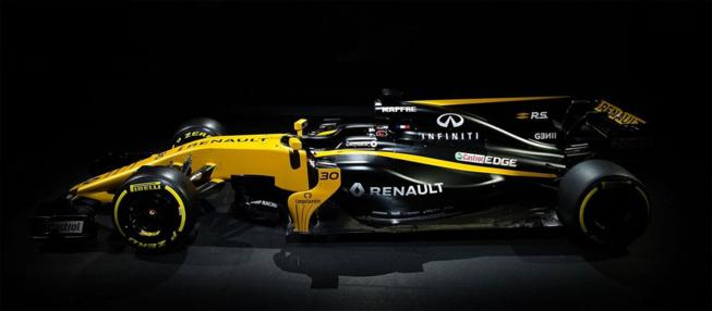 F1 : Renault présente la R.S.17