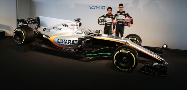 F1 : Force India présente la VJM10