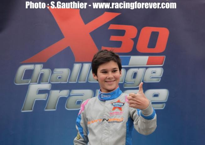 Sami Meguetounif a montré son talent en X30