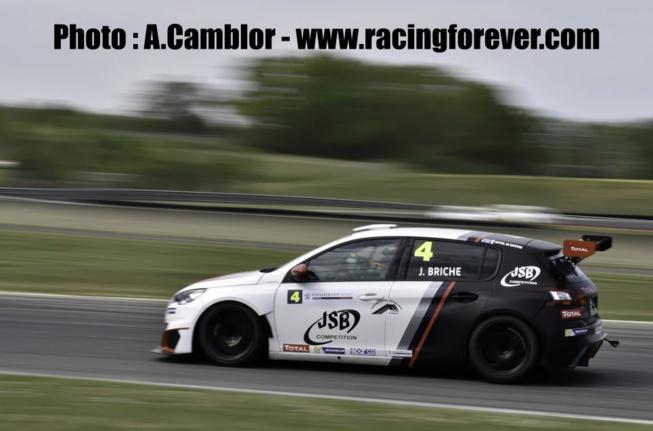 Julien Briché a bien maîtrisé sa 308 racing cup