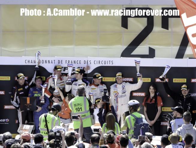 De nouveaux vainqueurs dans la course 2