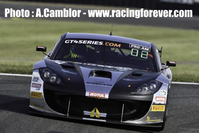 La Ginetta du team Speedcar s'impose à Nogaro