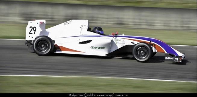 Depuis le début de la saison, Victor Martins est le leader de la F4 FFSA