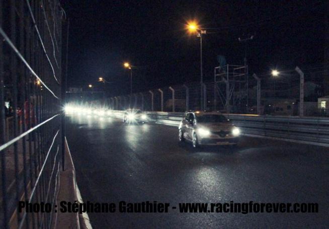 La nuit fut chaude pour les Clio Cup