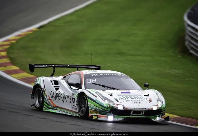 Une Ferrari en pole pour les 24h de Spa-Francorchamps