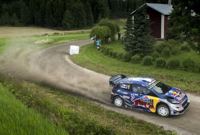 Ogier ne sera pas allé bien loin dans ce rallye ( Photo Jaanus Ree/Red Bull Content Pool)