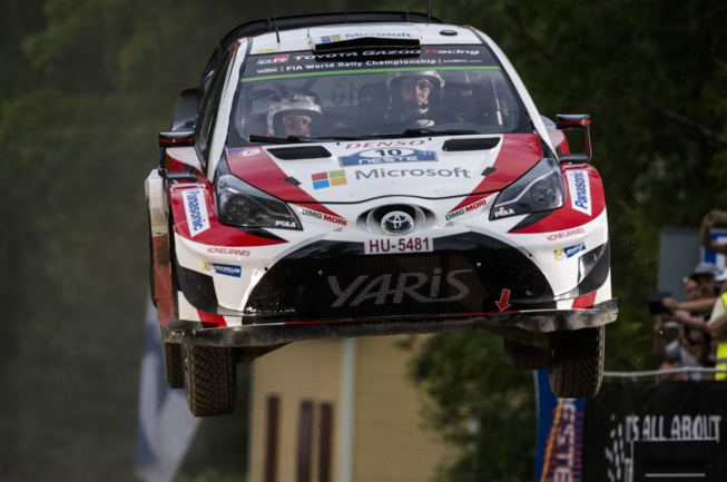 Latvala a été trahi par sa Toyota (Photo Jaanus Ree - Red Bull Content pool)