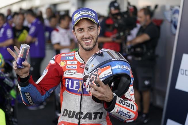 Andrea Dovizioso, nouveau leader avec 4 victoires