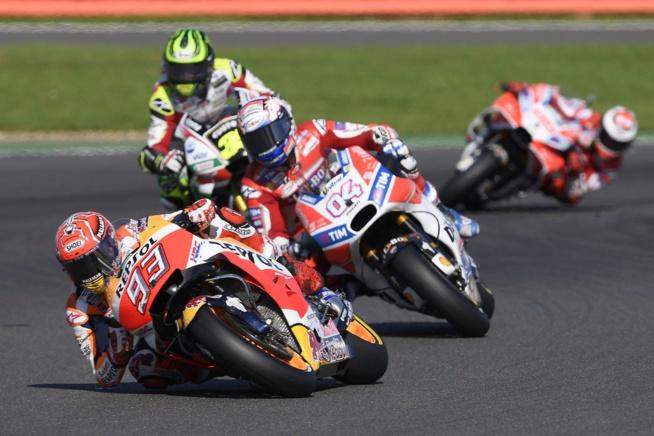 Marquez perd de gros points à Silverstone