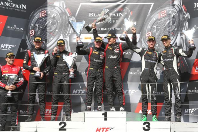 L'équipe belge Audi WRT complète un grand chelem à Budapest.