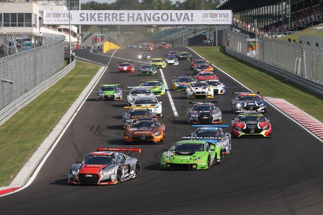 Blancpain GT Series 2017 : Hungaroring