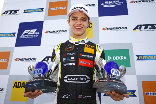 Le nouveau champion FIA F3