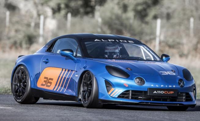Alpine A110 Cup (Photos DPPI / JM LE MEUR)
