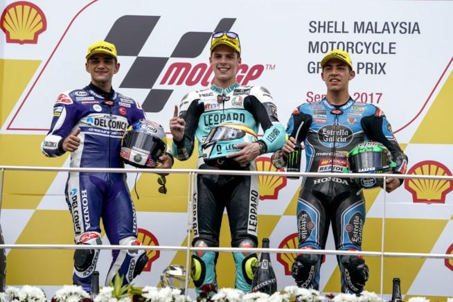 Mir habitué de la première place (Photo : Honda pro Racing)