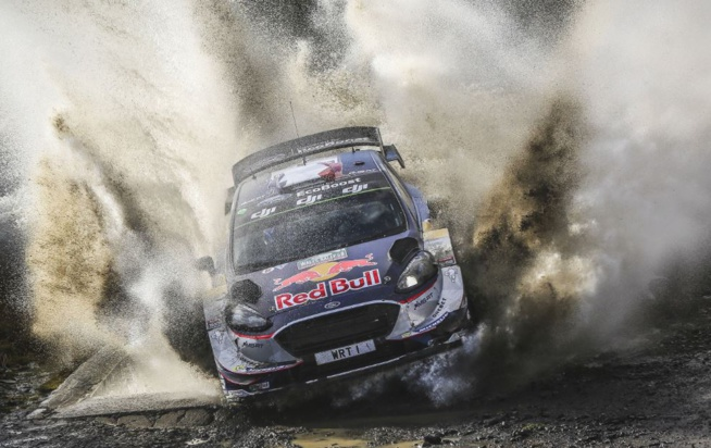Pour Ogier et Ingrassia, c'est fait ! (Photo : @World / Red Bull Content Pool)