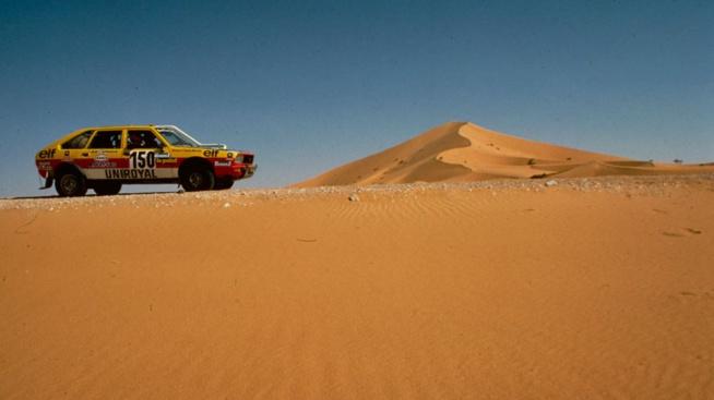 La Renault 20 des frères Marreau a marqué le Dakar (Photo Renault communication)