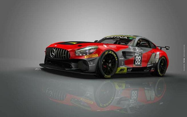 Akka Asp engagera la Mercedes AMG GT4 en championnat de France