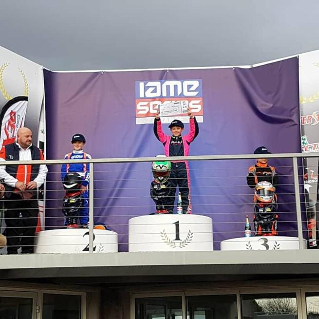 Première victoire en Iame Series France