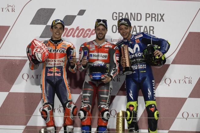 Le premier podium de l'année est déjà un must (Photo Honda Pro Racing)