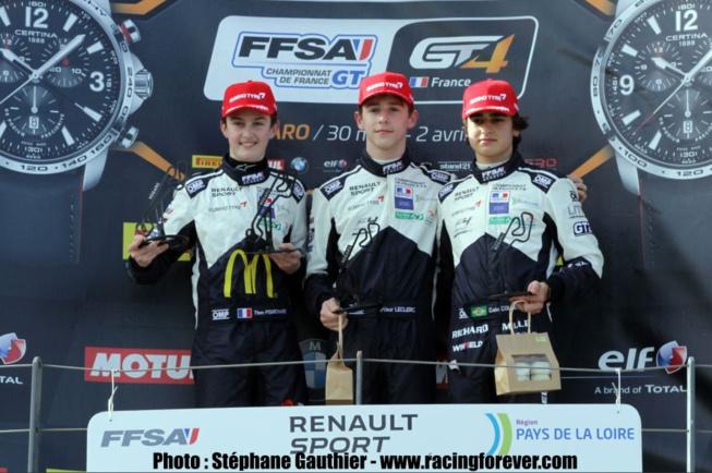 Pourchaire, Leclerc et Collet, 3 nouveaux talents à suivre