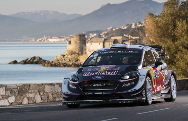 Ogier vainqueur en Corse (Jaanus Ree/Red Bull Content Pool)