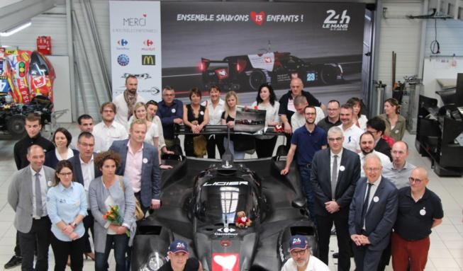 24h du Mans 2018 : La Sarthe se mobilise pour sauver 13 enfants !