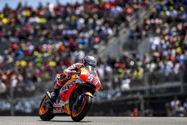 Marc Marquez fait encore gagner Honda en Moto Gp (Photo Honda pro Racing)