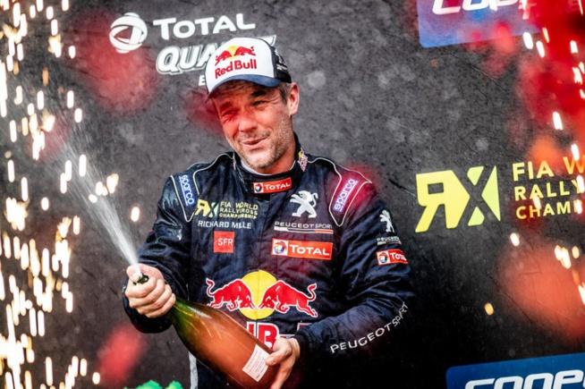 Loeb de nouveau sur le podium (Photo Peugeot Sport)