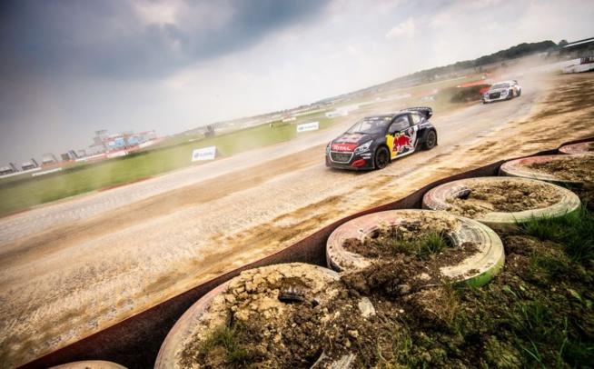 En action à Silverstone ! (Photo Peugeot sport)