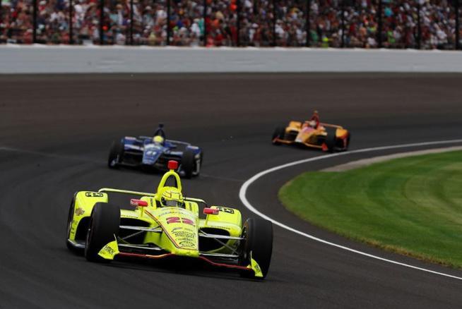 Pas de victoire pour Pagenaud mais un bon résultat (Photo Penske/Indycar)