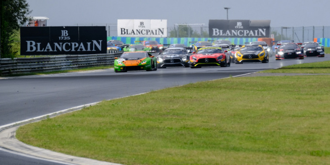 Blancpain GT Series : Hungaroring