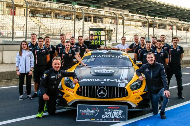 Un triomphe pour Mercedes, Marciello et Meadows et le team AKKA ASP (Photo SRO)