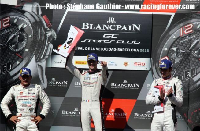 Julien Andlauer, vainqueur de la course 2, n''est pas assuré du titre.
