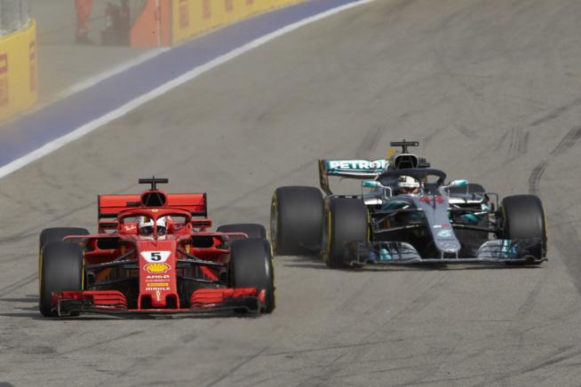L'écart se creuse entre Hamilton et Vettel (Photo Daimler)