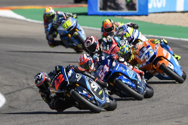 Bagnaia en rajoute une (Honda pro Racing)