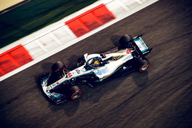 F1 : GP d'Abou Dabi, victoire de Hamilton