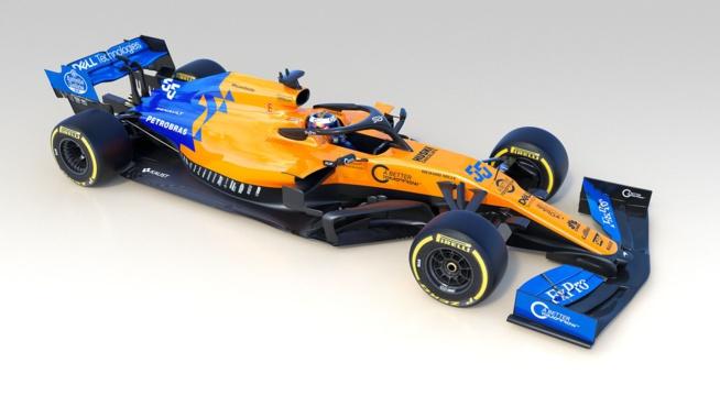 F1 : McLaren présente la MCL34