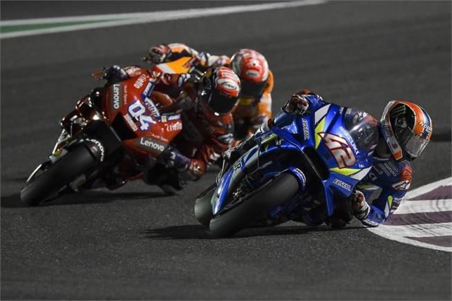 Suzuki et Rins ont mené la course