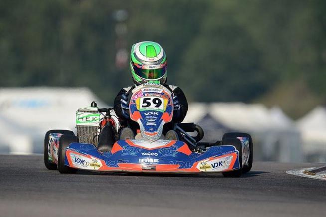 Kart : Axel Gouesmel déjà sur le podium