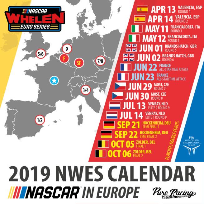 Nascar Whelen Euro Series : Complet !