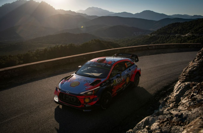 La Corse a délivré plus d'un tour dans son rallye !  ( Photo : Jaanus Ree/Red Bull Content Pool)