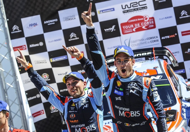 Une victoire chanceuse pour Neuville/Gilsoul ( Photo @World / Red Bull Content Pool)