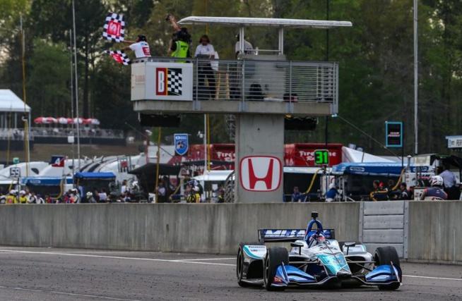 Sato, et de 4 ! (Honda Racing)