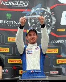 Premier podium à Nogaro
