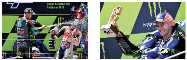 MotoGp : Marquez vainqueur en Catalogne, Quartararo 2e