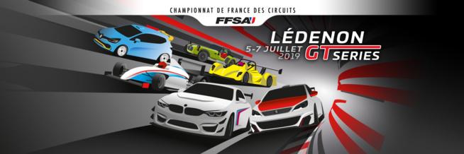 Ledenon GT Series : Les horaires du week-end