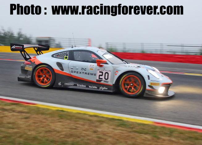 Porsche renoue avec le succès à Spa-Francorchamps
